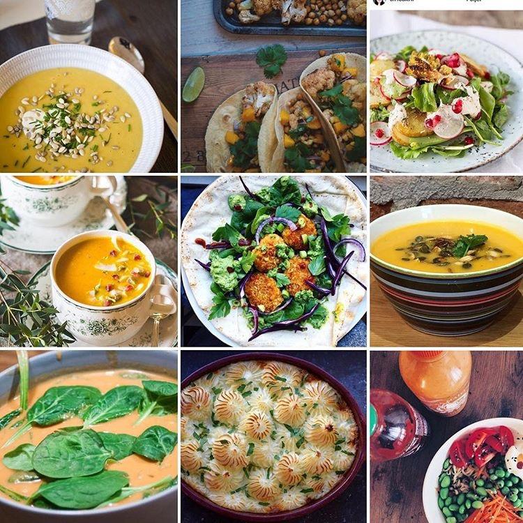 enkla nyttiga vegetariska recept