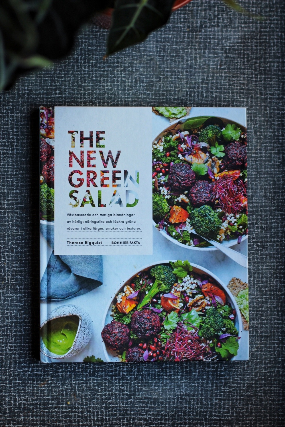 Therese Elgquist the new green salad recension vegetarisk kokbok