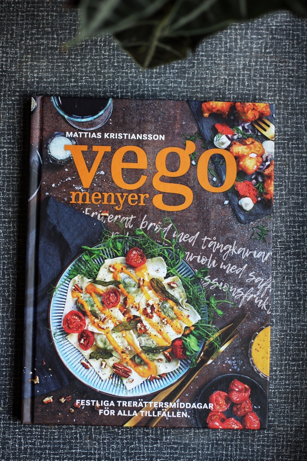 mattias Kristiansson vegomenyer vegetarisk kokbok recension