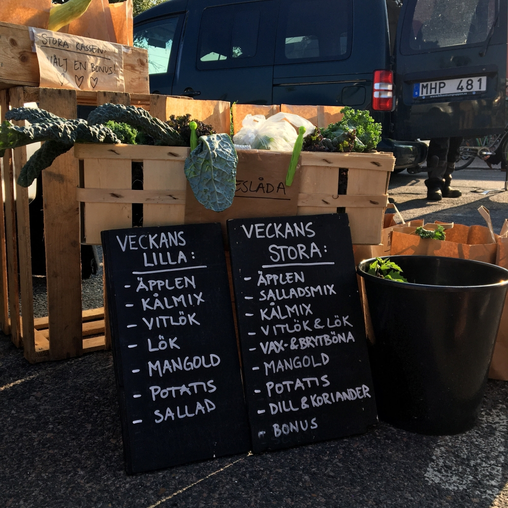Reko ring Malmö lokalproducerade grönsaker